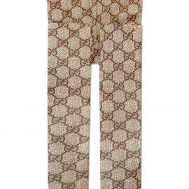 Gucci GG pattern tights - Brown