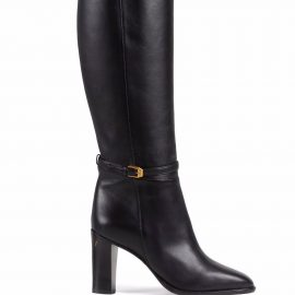 Gucci Gucci print knee-lenght boots - Black