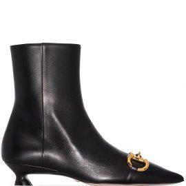 Gucci Horsebit ankle boots - Black