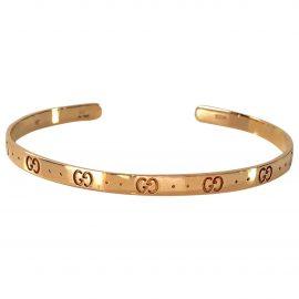 Gucci Icon pink gold bracelet