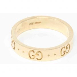 Gucci Icon yellow gold ring