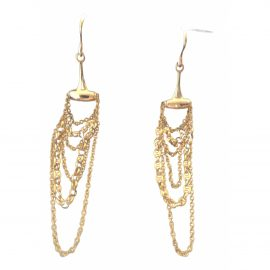 Gucci Mors yellow gold earrings