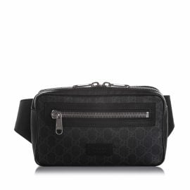Gucci N Black Cloth Belt Bag for Men