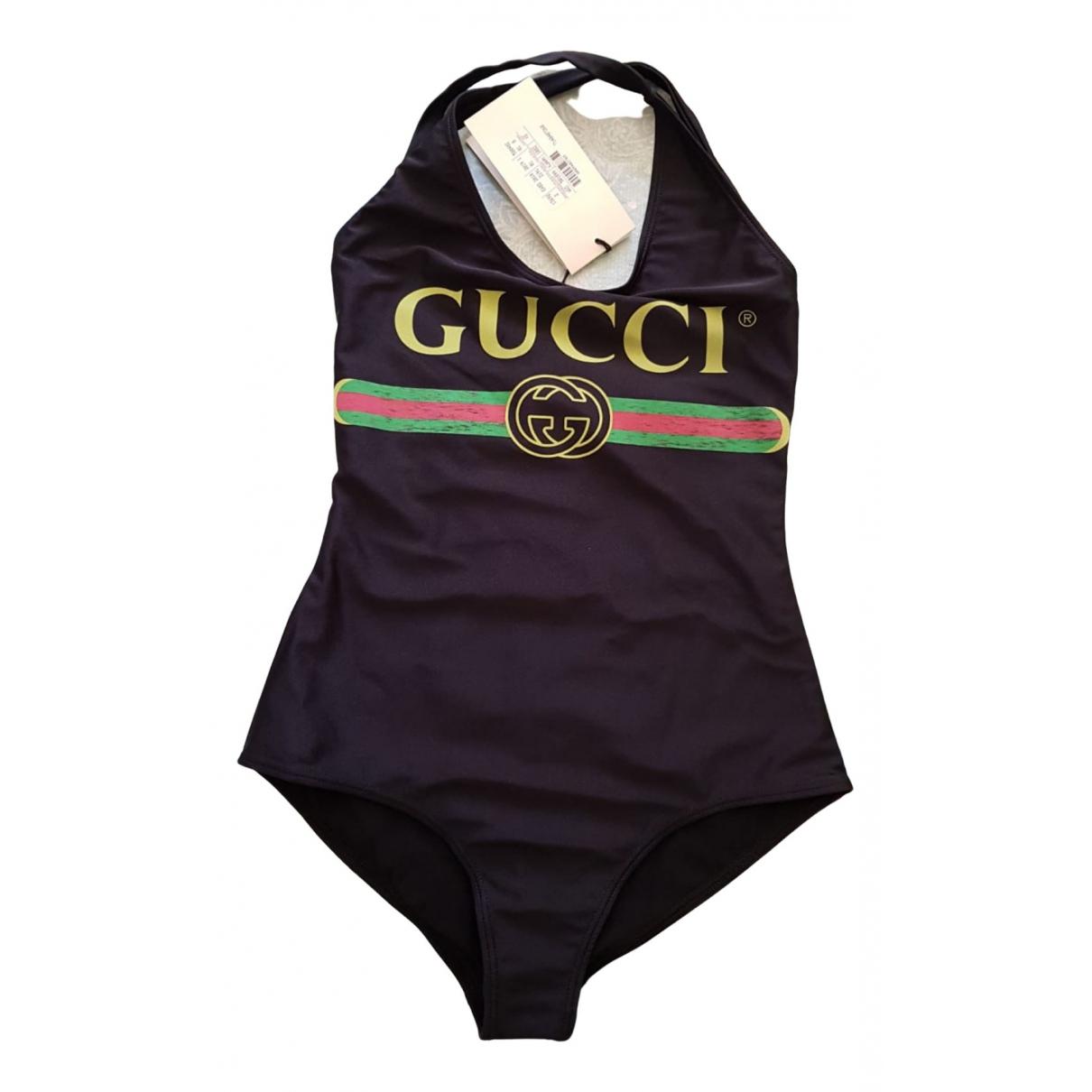 Gucci N Black Lycra Swimwear for Women