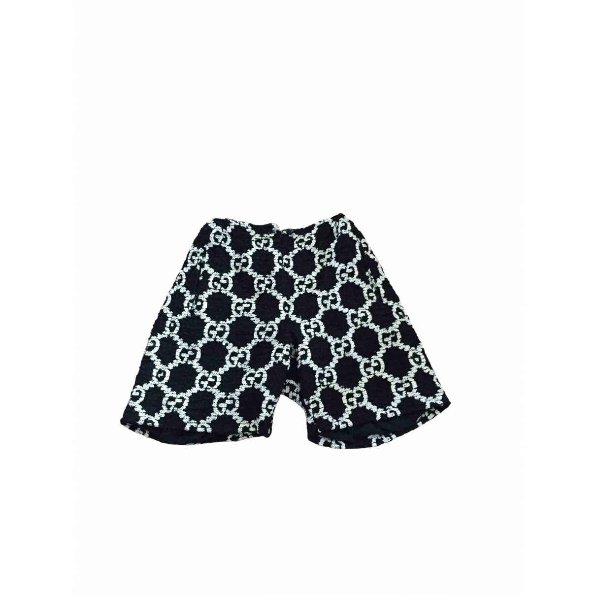 Gucci N Black Tweed Shorts for Women