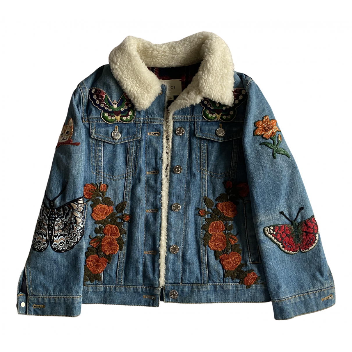 Gucci N Blue Denim - Jeans Jacket & Coat for Kids