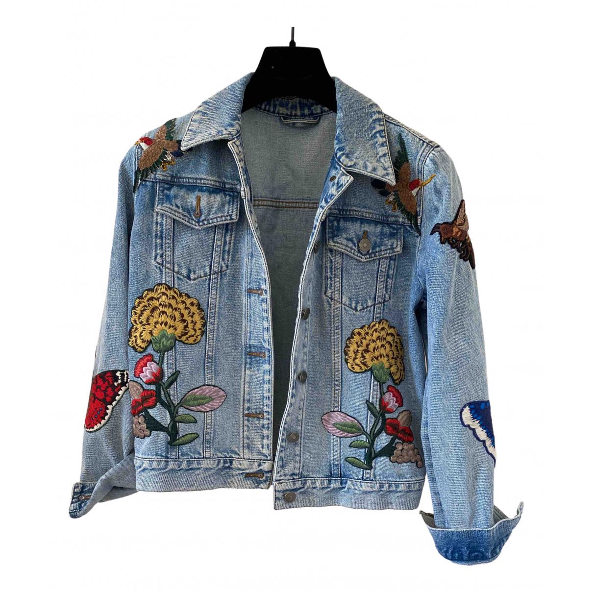 Gucci N Blue Denim - Jeans Jacket for Women
