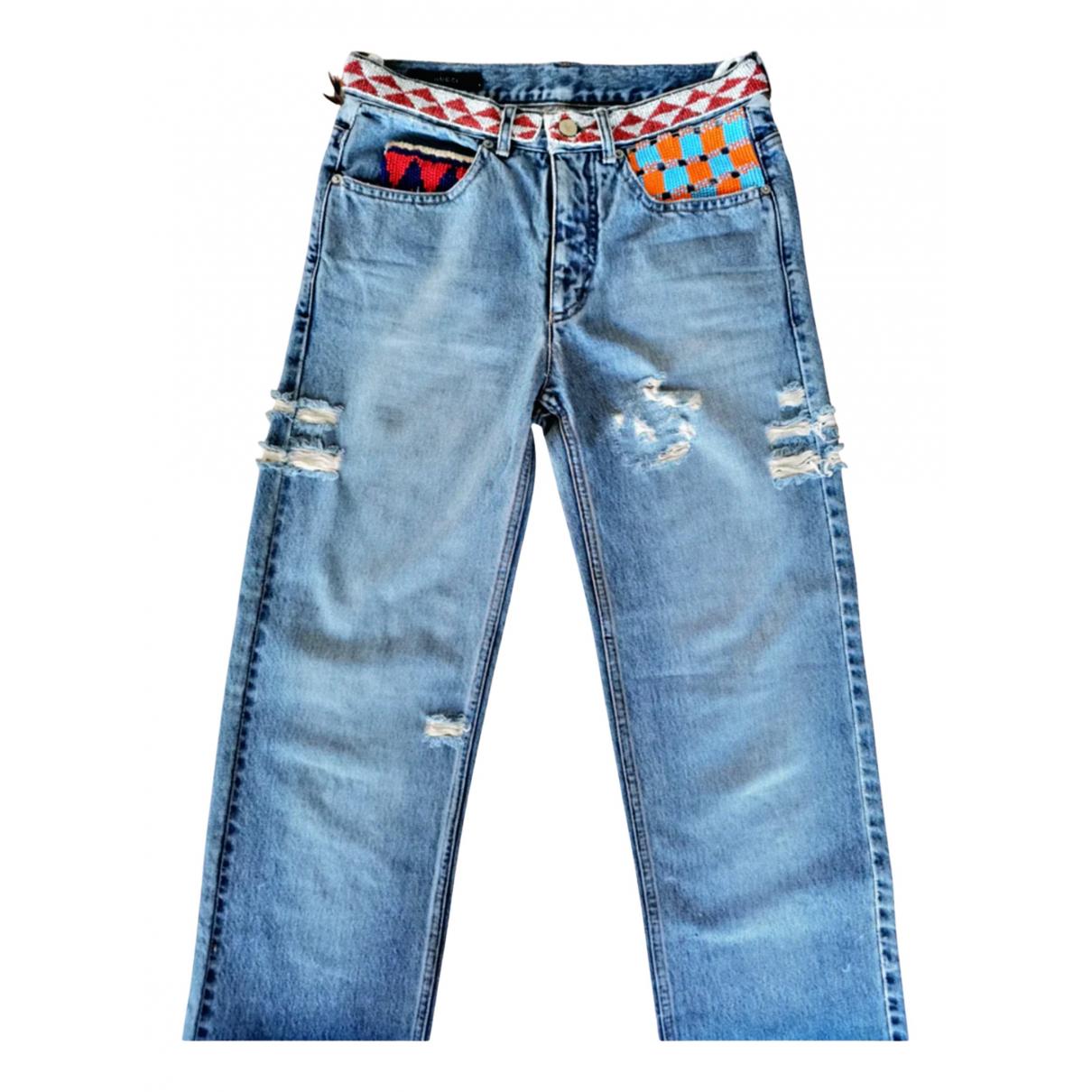 Gucci N Blue Denim - Jeans Jeans for Women