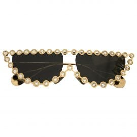Gucci N Gold Metal Sunglasses for Women