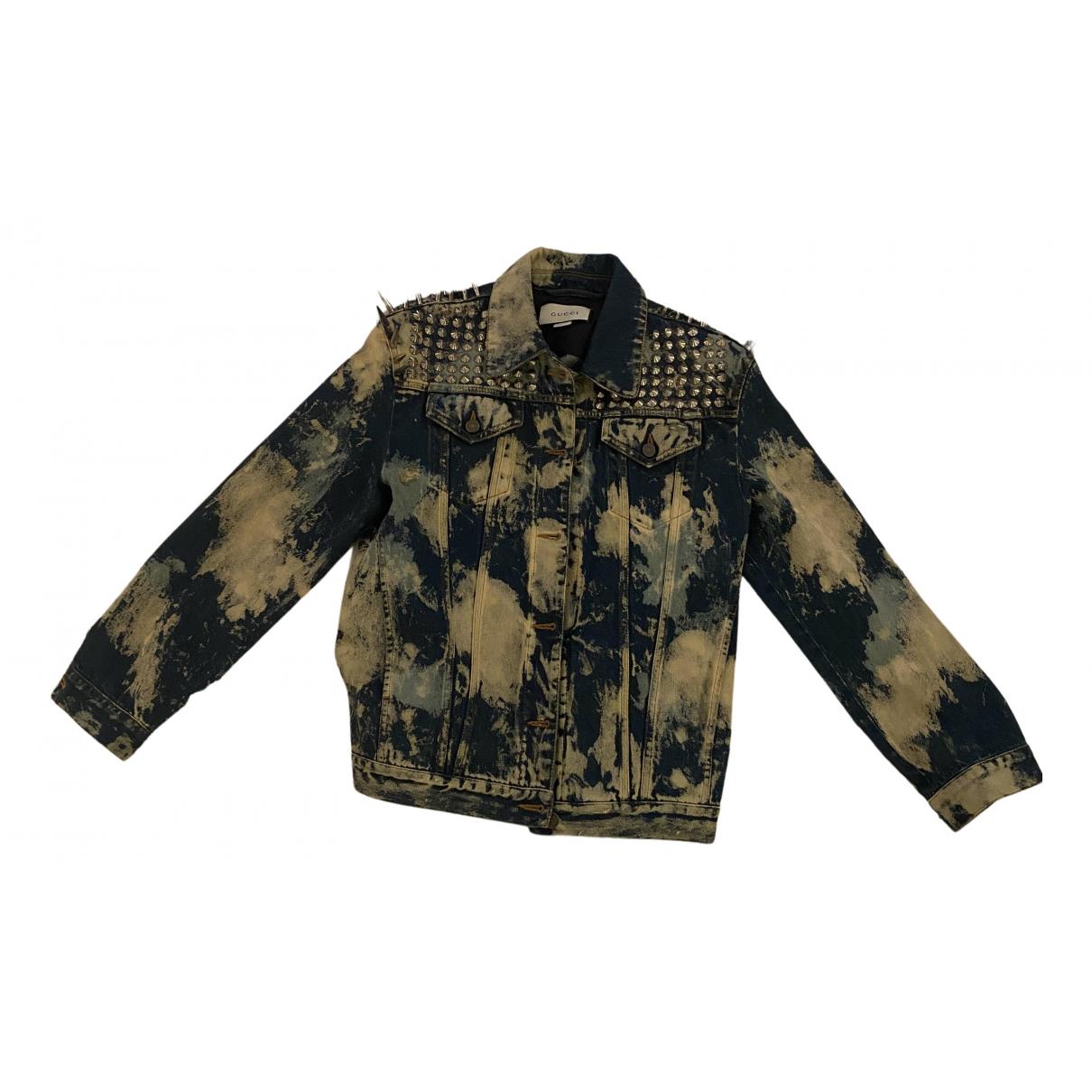 Gucci N Multicolour Denim - Jeans Jacket for Women