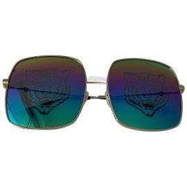 Gucci N Multicolour Metal Sunglasses for Women