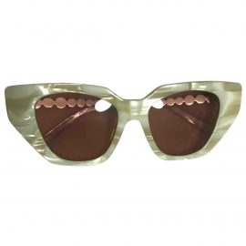 Gucci N White Sunglasses for Women