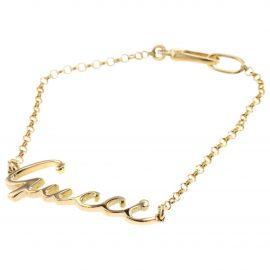 Gucci Yellow gold bracelet