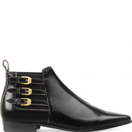 Gucci buckled ankle boots - Black