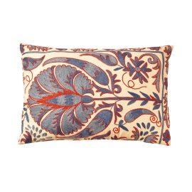 HERITAGE Geneve - Babylon Cypress Suzani Ikat Double Sided Heritage Design Cushion