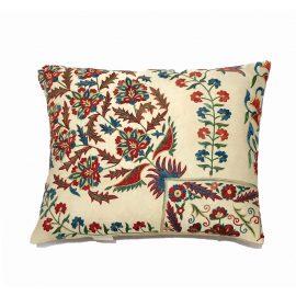 HERITAGE Geneve - Flower Bucket Silk Suzani Cushion