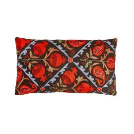 HERITAGE Geneve - Halicarnassus Bodrum Suzani Ikat Double Sided Silk Heritage Design Cushion
