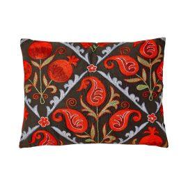 HERITAGE Geneve - Halicarnassus Gulf Suzani Ikat Double Sided Heritage Design Cushion