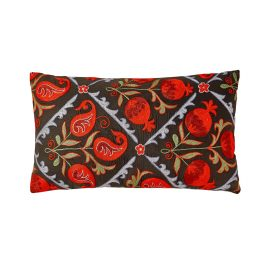 HERITAGE Geneve - Halicarnassus Suzani Ikat Double Sided Heritage Design Cushion