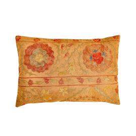 HERITAGE Geneve - Pyramid Flower Suzani Ancient Heritage Design Cushion