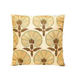 HERITAGE Geneve - Suzani Soho Silk Embroidered Heritage Style Cushion