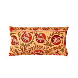 HERITAGE Geneve - Taj Mahal Agra Suzani Ikat Double Sided Silk Heritage Design Cushion
