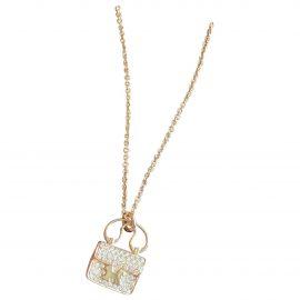 Hermès Amulette pink gold pendant