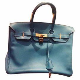 Hermès Birkin 35 leather tote