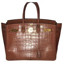 Hermès Birkin crocodile tote