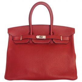 Hermès Birkin leather tote