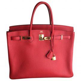 Hermès Birkin leather tote bag