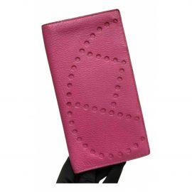 Hermès Evelyne leather wallet