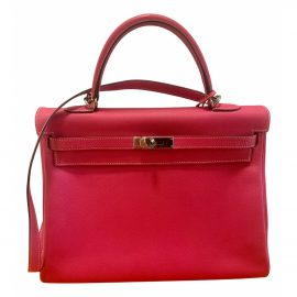 Hermès Kelly 35 leather tote