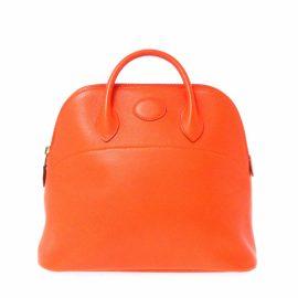 Hermès Leather backpack