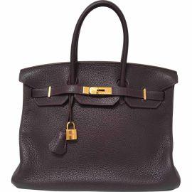 Hermès Leather tote
