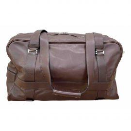 Hermès Leather weekend bag