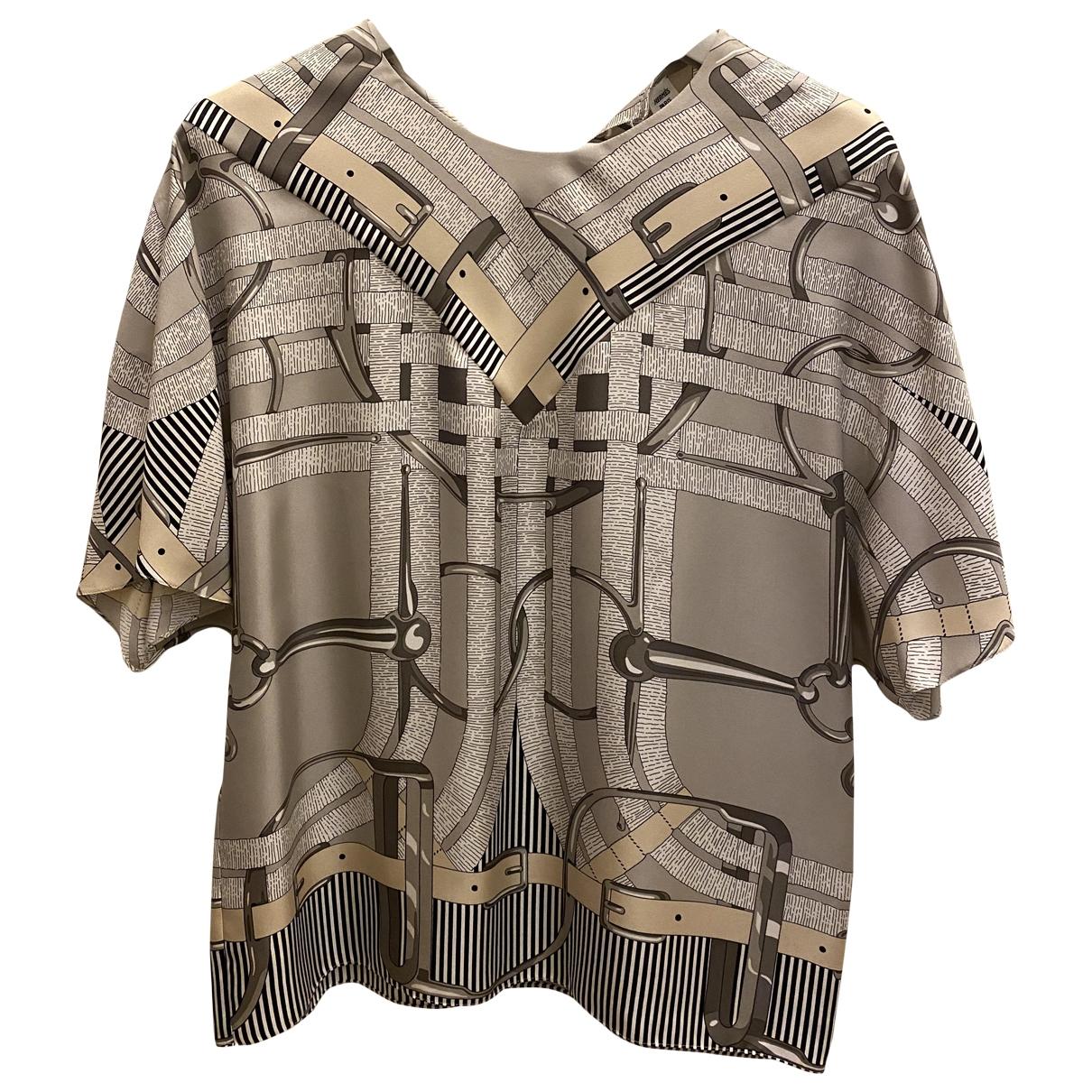 Hermès N Multicolour Silk Top for Women