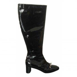 Hermès Patent leather riding boots