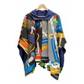 Hermès Silk cape