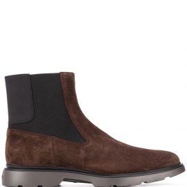Hogan Chelsea boots - Brown