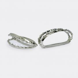 House of Today Tableware - 'Bijoux De Table' in Silver Silver