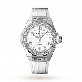 Hublot Big Bang Steel White Diamonds 465.SE.2010.RW.1204 39mm