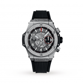 Hublot Big Bang Unico Titanium Diamonds Automatic 42mm