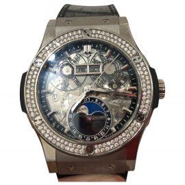 Hublot Classic Fusion Black Titanium Watch for Men