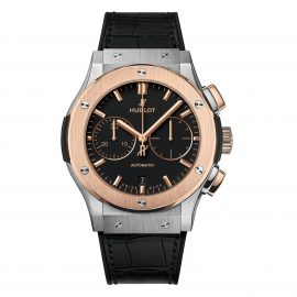 Hublot Classic Fusion King Gold & Titanium Automatic Chronograph Watch