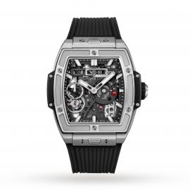 Hublot Horloge Spirit of Big Bang Meca-10 Titanium 45mm 614.NX.1170.RX