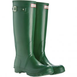 Hunter Ladies Original Tall Wellington Boots Green
