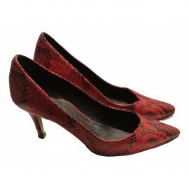 Isabel Marant N Red Leather Heels for Women