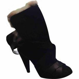 Isabel Marant Pony-style calfskin snow boots