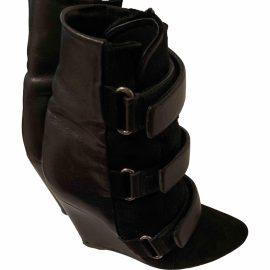 Isabel Marant Pony-style calfskin wellington boots